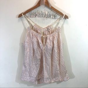 Ruehl No. 925 Pink Floral Tank Top NWT